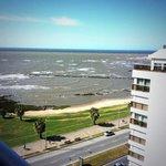 La rambla de Montevideo desde el Hotel Cala Di Volpe