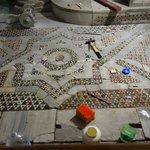 floor being restored