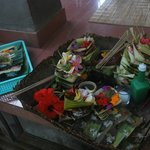 Balinese offering to their ancestors every day
