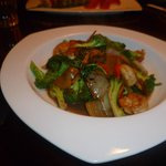 Thai Basil with Shirmp, very good
