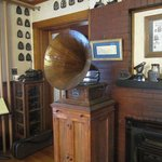 I LOVED all the old phonographs decorating the Inn (and the irons)