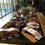 Breakfast buffet & a hot meal too!