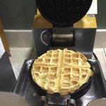 Breakfast bar waffle iron