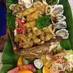 Seafood Platter! Awesome!