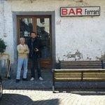 Bar Ferrari at boveglio square
