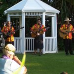 Musicians at the luau