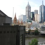 QUAY WEST MELBOURNE: View from 9th Floor Suite