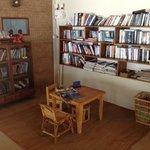 children corner and books!