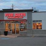Five guys in Wellington rd London Ontario