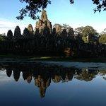 The reflection of bayon