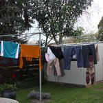 Open ground for laundry