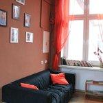 Sofa on corridor