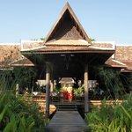 Khmer architecture...no concrete & glass