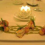 First of 4 course French a la carte in Le Jardin Restaurant