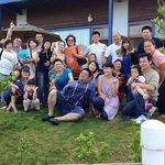 於熱情台灣旅客的合照