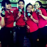 Beer drinking staff.