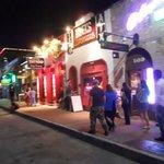 Colorful nightlife