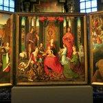 Le Triptyque de St Jean Baptiste et St Jean l'évangeliste