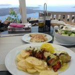 One of the great lunches, with amasing view from table
