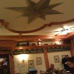 Plafond en marquetterie