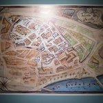 Map of the Jewish Quater