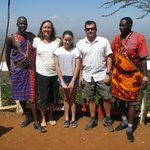 James and William collected us from Nairobi, travelling via the Rift Valley and stopping for a l