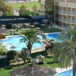 piscines de l'hôtel