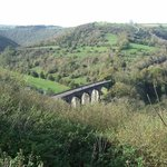 Viaduct from the Monsal Head Hotel