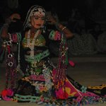 Rajasthani folk dancer ,doing beautiful deance