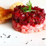 Tuna Tartare with beets