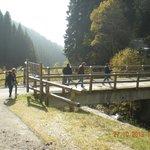 passato il ponte si sale per circa 800 metri
