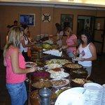 buffet meals