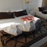 Bettdeko vom Zimmermädchen