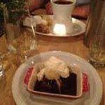 Birthday Fondue and yummy brownie!! :)