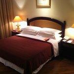 спальня двухкомнатного сьюта