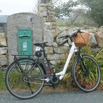 Making the Post at Callow on the Ballyconnely/Roundstone Loop.