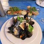 over cooked mussels