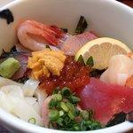 海鮮丼~♡