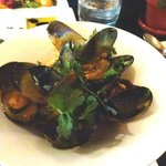 Heavenly mussels in curry sauce- best I have ever had