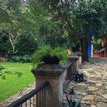 Casa Patron garden, patio and terrace