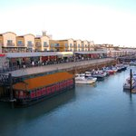 The marina-facing rooms from Weatherspoons