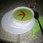 Zuppa avocado