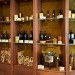 Zeytinyalı Restaurant Olive Oil Showcase