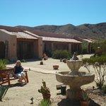 Borrego Valley Inn courtyard