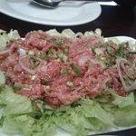 Salade de boeuf à la citronnelle