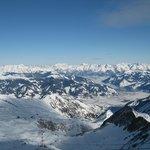 На леднике Kitzsteinhorn - 3029 м над уровнем моря