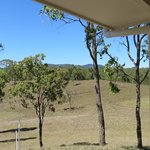 Looking north from the verandah