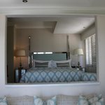 View of Bedroom from Suite Seating Room - Lions Head (North) Wing