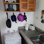 Kitchen supplies and dishes