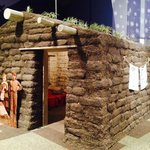 Sod house you can go into and learn about